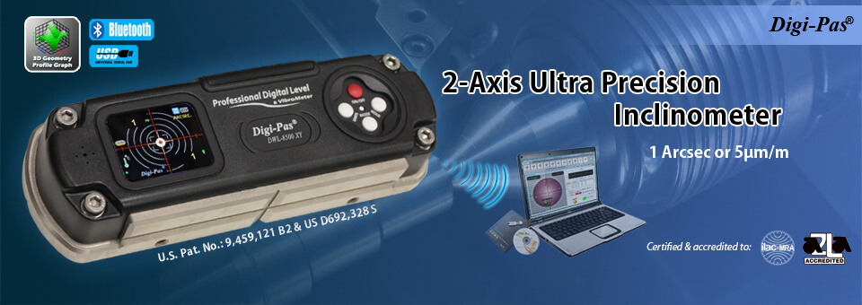 2-Axis Ultra Precision Digital Level