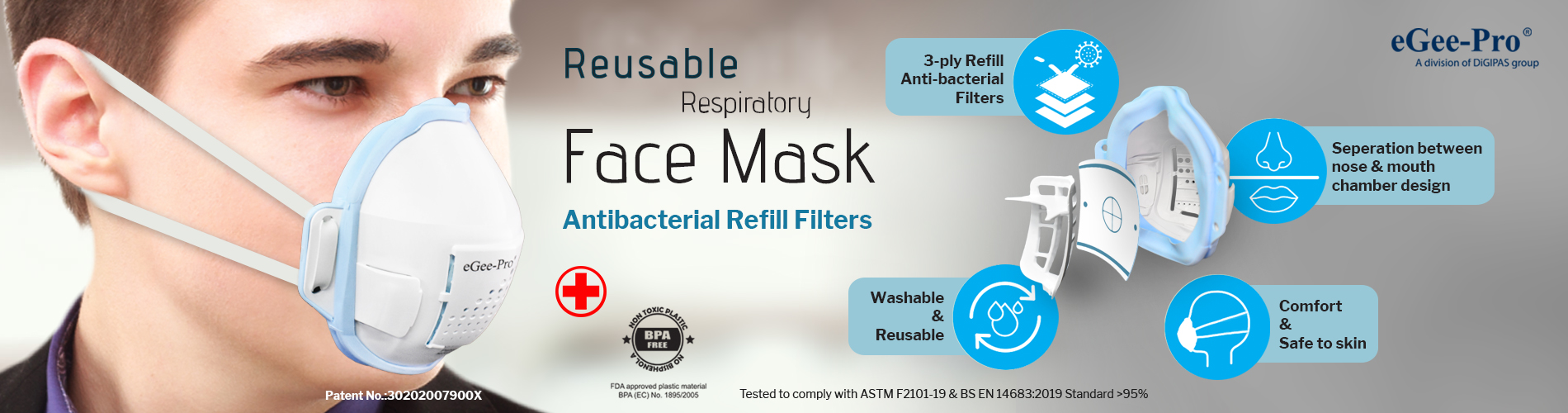 Reuseable Face Mask